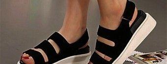 сандалии на липучках