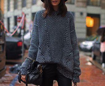 длинные свитера