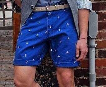 шорты из хлопка