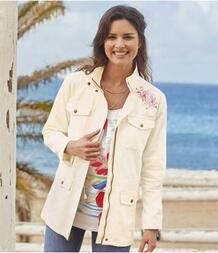 Летняя Куртка-сафари с Вышивкой AFM 2579686
