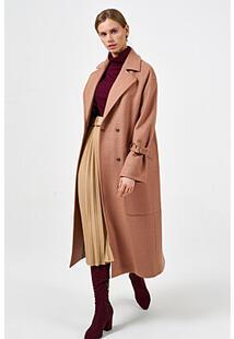 Удлиненное пальто с поясом Синар 371307