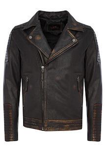 Косуха из натуральной кожи Urban Fashion for Men 371537