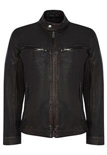 Куртка из натуральной кожи Jorg Weber 371539