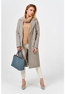 Классическое пальто в клетку Синар 370909