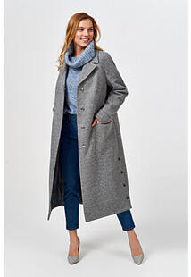 Удлиненное пальто Синар 370915