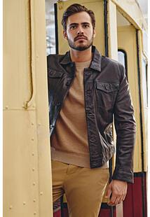 Куртка из натуральной кожи Jorg Weber 368443