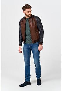 Кожаный бомбер Urban Fashion for Men 365497