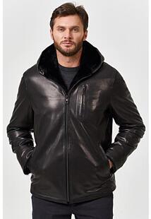 Кожаная куртка с подкладкой из овчины Jorg Weber 364049