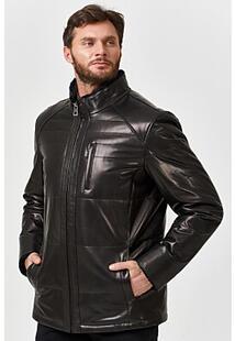 Кожаная куртка с подкладкой из овчины Jorg Weber 364056
