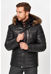 Кожаная куртка с подкладкой из овчины Jorg Weber 364616