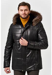 Кожаная куртка с подкладкой из овчины Jorg Weber 363625