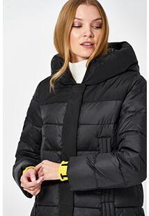 Удлиненная стеганая куртка с капюшоном Neohit 361724