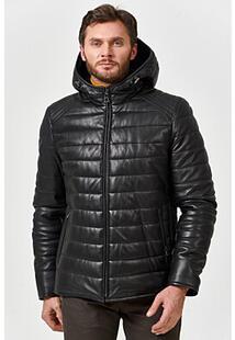 Кожаная куртка с подкладкой из овчины Jorg Weber 362454