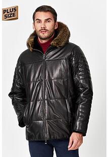 Кожаная куртка с подкладкой из овчины Jorg Weber 359814
