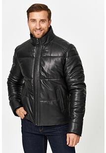 Кожаная куртка с подкладкой из овчины Jorg Weber 359810