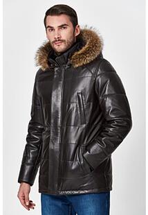 Кожаная куртка с подкладкой из овчины Jorg Weber 359822