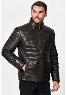 Кожаная куртка с подкладкой из овчины Jorg Weber 359826