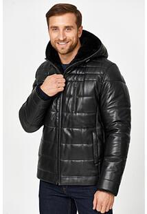 Кожаная куртка с подкладкой из овчины Jorg Weber 359809