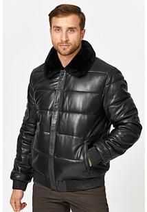 Кожаная куртка с подкладкой из овчины Jorg Weber 358251