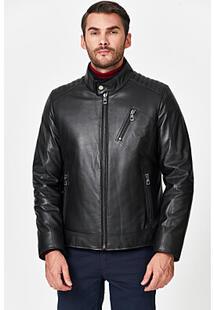 Кожаная куртка с подкладкой из овчины Jorg Weber 358252