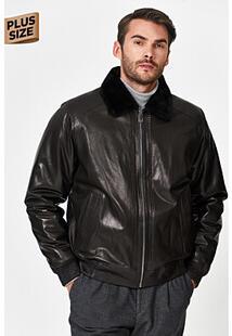 Кожаная куртка с подкладкой из овчины Jorg Weber 358268