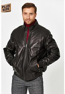 Кожаная куртка с подкладкой из овчины Jorg Weber 358267