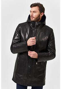 Удлиненная кожаная куртка с подкладкой из овчины Jorg Weber 359832