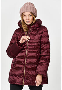 Утепленная куртка с отделкой трикотажем MADZERINI 358544
