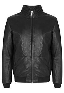 Утепленная кожаная куртка Urban Fashion for Men 345461