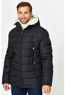 Утепленная куртка с отделкой меховой тканью Urban Fashion for Men 356710