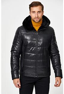 Кожаная куртка с подкладкой из овчины Jorg Weber 355522