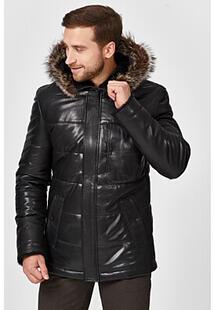 Кожаная куртка с подкладкой из овчины Jorg Weber 355524