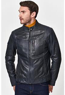 Утепленная кожаная куртка Jorg Weber 351789
