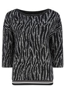 Пуловер с анималистичным принтом. Betty Barclay 353427