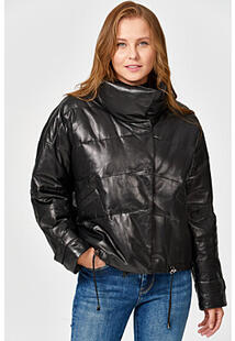 Утепленная кожаная куртка Vericci 352633