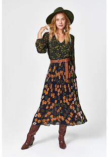 Платье с цветочным узором QS by s.Oliver 352237