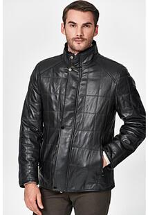 Кожаная куртка с подкладкой из овчины Jorg Weber 350961