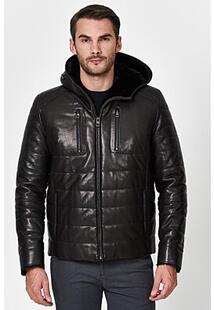 Кожаная куртка с подкладкой из овчины Jorg Weber 350898
