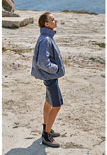 Утепленная кожаная куртка Vericci 350438