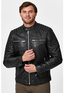 Утепленная кожаная куртка Urban Fashion for Men 345463
