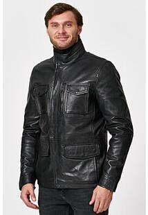 Утепленная кожаная куртка Jorg Weber 345458