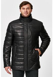 Утепленная кожаная куртка Al Franco 342711
