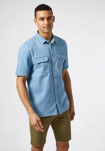 Рубашка джинсовая Burton Menswear London BU014EMIQSX9INS