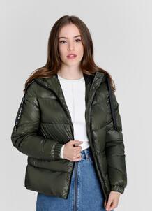 Легкая утеплённая куртка с тесьмой O`Stin 179383040299