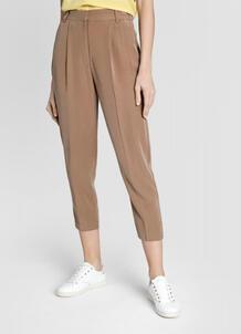 Зауженные брюки из мягкой поливискозы O`Stin 180752290299