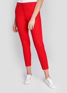 Зауженные брюки из сатинированного хлопка O`Stin 180499700299