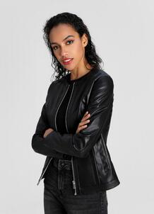 Базовая куртка из искусственной кожи O`Stin 180140480299