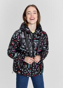 Легкая утеплённая куртка с тесьмой O`Stin 179383090299