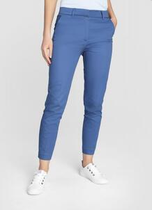 Зауженные брюки из сатинированного хлопка O`Stin 180816090299