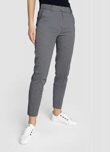 Зауженные брюки из сатинированного хлопка O`Stin 180499580299
